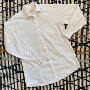 MICHAEL Michael Koran's White Button Up Shirt